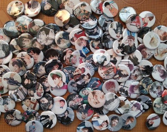 KPOP Mystery Button Grab Bag
