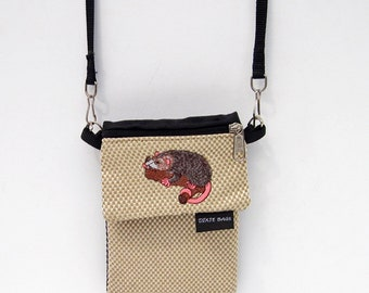 Opossum Large Cell Phone Case with a Coin Purse, 2 Piece Set