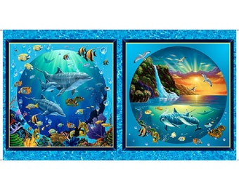 Quilting Treasures Under the Sea Picture Patches  #26588-B
