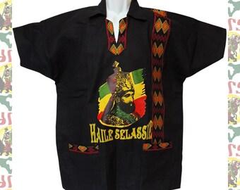 Rare / H.I.M haile selassie / rasta / 90s / shirt vVljWYde