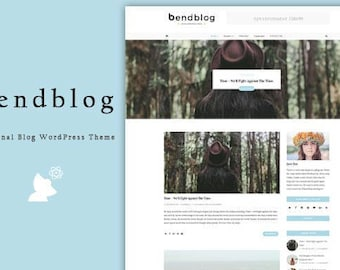 "WordPress Theme ""Bendblog"""