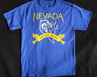 Nevada Battle Born Tee Shirt