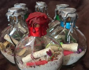 Custom Order Spell Bottle