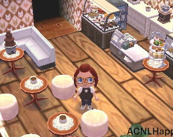 Animal Crossing New Leaf Cafe