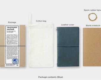 PRE ORDER Travelers Notebook Blue Color Regular - End of April Arrival
