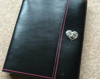 A4 Leather Ring Binder/Leather Ringbinder/Leather Binder