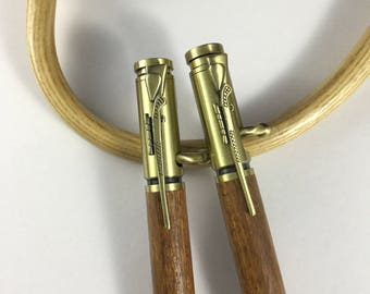 Rifle Pen and Pencil Set
