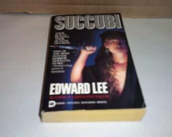 Succubi by Edward Lee Vintage 1992 horor paperback!!