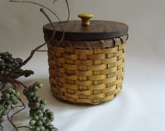 Toilet Paper Basket Basket With A Lid Painted Basket Storage Basket Canister