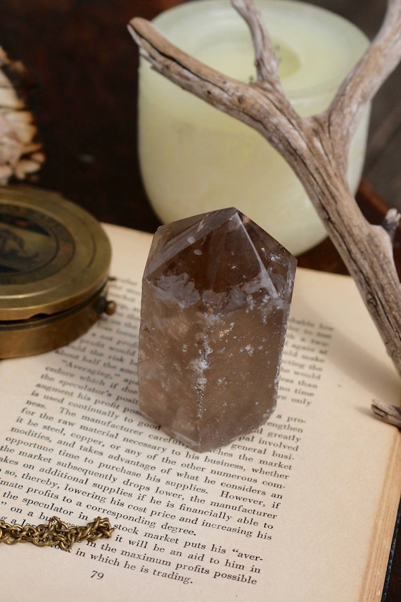 "Large Smoky Quartz Point, 3.5"" Tall"