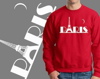 Paris Sweater City Of Love Romantic Travel Sweatshirt Eiffel Tower