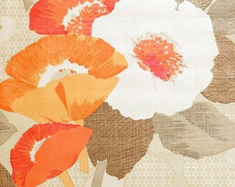 Original 1960s 1970s Bloomin Florida - Floral Vintage Wallpaper Retro Flowers