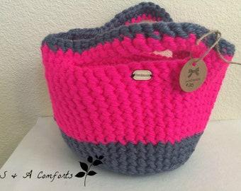 Ready to Ship***Crochet Tote Bag| Small Purse| Handmade Purse | Crochet Purse | Crochet Small Purse | Ladies Handbag | Crochet Handbag