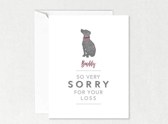 Effortless image pertaining to free printable sympathy card for loss of pet