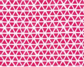 Triangles - Magenta - Cloud9 KNIT 2 collection