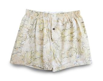 Mens Boxers Underwear, Cotton Boxers, Mens Underwear, Batik Boxers, Pajama Shorts, Mens Boxer Shorts