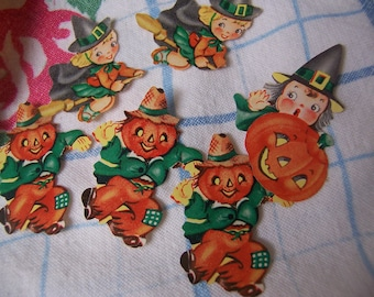 six dennison halloween seals