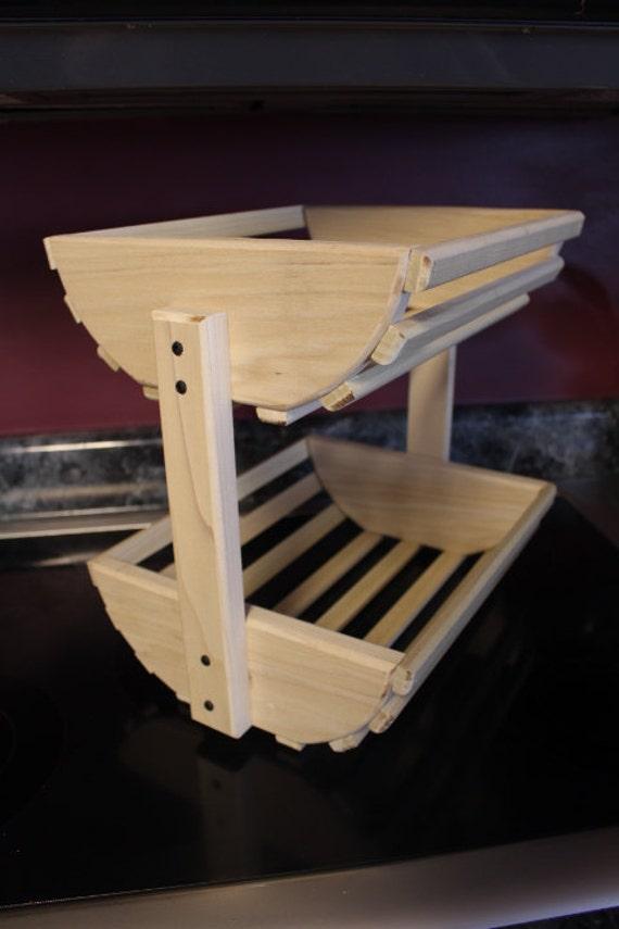 panier de rangement courbe panier en bois rangement l gume. Black Bedroom Furniture Sets. Home Design Ideas