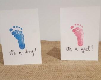 It's a boy/girl! Baby card