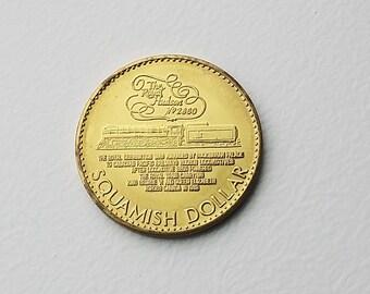 1984 Squamish British Columbia Trade Token