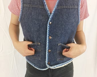Wild West Denim Vest