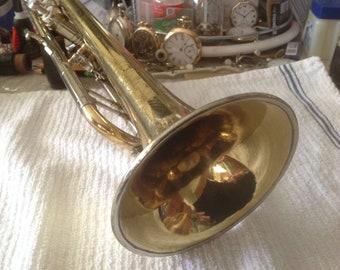 SELMER Vintage TRUMPET Sterling SUPER Model 1958 PROFESIONaL Level Horn U.K. made Restored!!! & Relaqered