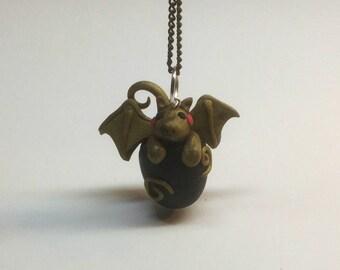 Polymer Clay Dragon Baby Charm