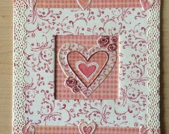 Handmade  Love Card Valentines