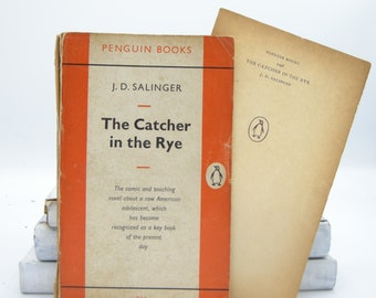 The Catcher in the Rye by J. D. Salinger (Vintage, Penguin, Classics)