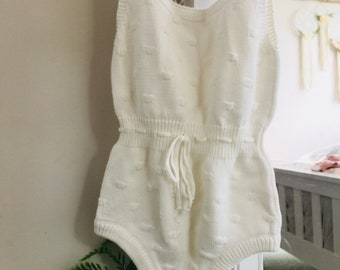 READY TO SHIP - Romper 12 months