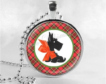 SCOTTIE Dog Necklace Art Pendant Jewelry, Scottish Terrier Jewelry, Scottie Dog, Scotty Dog, Dog Necklace, Dog Jewelry
