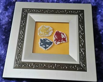 Hunger Games cross stitch