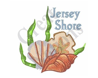 Jersey Shore - Machine Embroidery Design