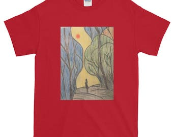 Searching For Your Path Hand Drawn T-Shirt