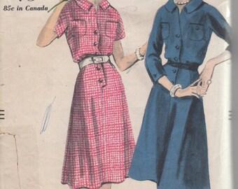 Bust 42-1969 Women's Dress Vogue 9708 Size 40