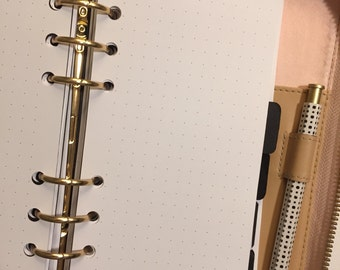 Dot Grid  Printed Planner Inserts