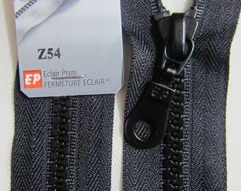 Closure zipper 55 cm, detachable black