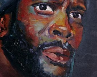 Tyreese | Archival Print Portrait of Chad Coleman from Walking Dead by Jess Kristen