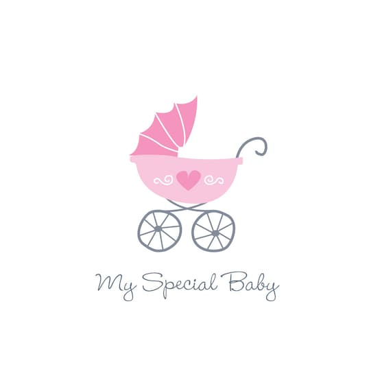 Items Similar To Baby Pram Logo Suitable For Baby Clothing Toy And