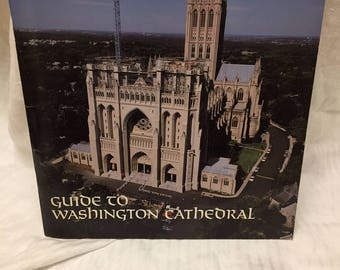 Guide to Washington Cathedral souvenir book