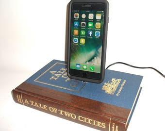 IPhone 5, 6, or 7  Charging Dock, Charles Dickens A Tale of Two Cities, Docking Charger Station