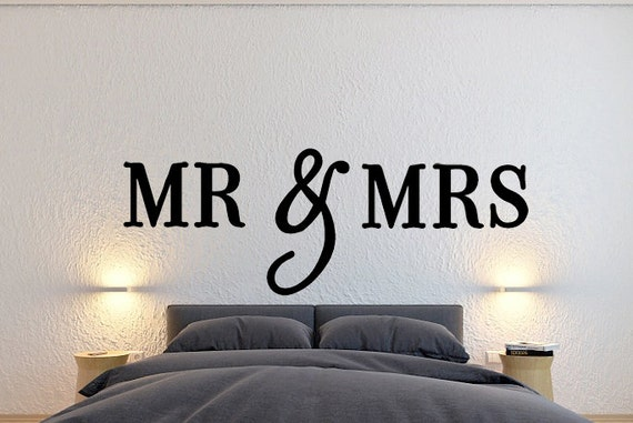 MR U0026 Mrs Wall Sign Wall Hanging Letters Home Decor Bedroom