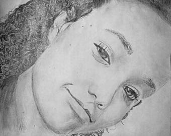 Custom Pencil Portrait