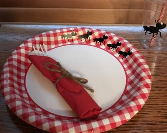 Ant Picnic Paper Plates