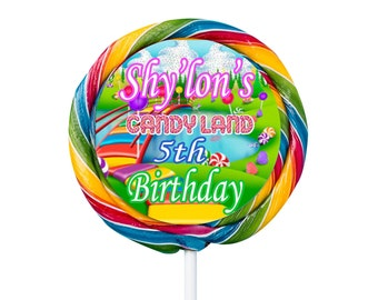 candyland lollipop
