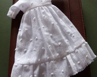 White Blythe Dress - Pure And SImple - Folksy Dress For Haunting