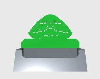 Star Wars Jabba the Hutt Desktop Business Card Holder/Desktop Accessory/Office Supply