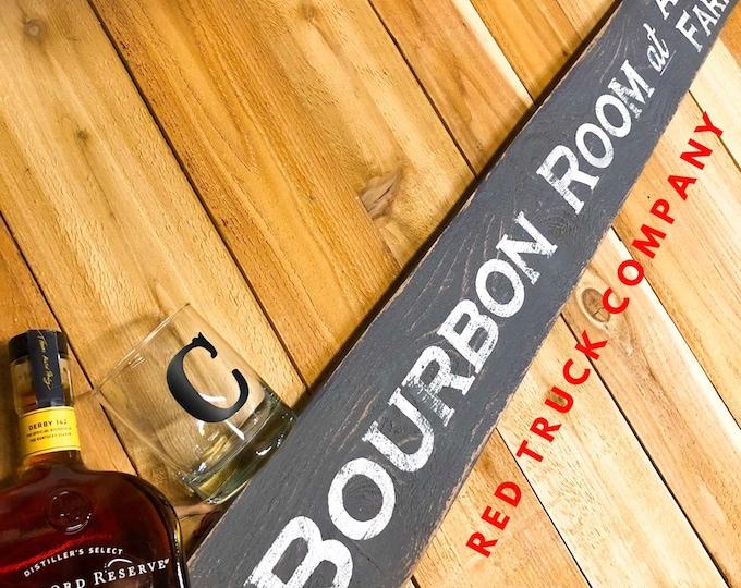 Bourbon Barrel Sign. Man Cave Decor. Bourbon and Barrel. Bourbon Sign. Bourbon Gifts. Bourbon Art. Kentucky Bourbon. Bar Decor. Wine Decor.