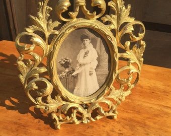 Antique Brass Frame