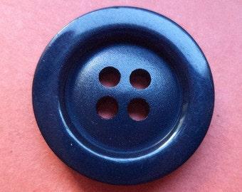 10 buttons 18mm dark blue blue (3384)